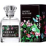 NOU Eau de Parfum Cherry Blossom - Blumen-Parfüm für Damen - Süße, Fruchtige Noten - Natürliches Frisches Sakura-Kirschblüten-Parfüm Frauen mit Ätherischen Ölen - Frisch & Blumig - 50 ml EdP