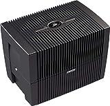 Venta Luftwäscher LW45 COMFORTPlus Luftbefeuchter und Luftreiniger für Räume bis 80 qm, Brillant Schwarz, mit digitaler Steuerung
