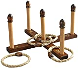 Jaques of London Quoits Game | Outdoor Spielzeug | Garten Spielzeug | Outdoor Spiele Für Kinder | Garten Kinder | Outdoor Spiele | Seit 1795