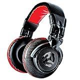 Numark Red Wave Carbon - Leichter und hochwertiger Full-Range-DJ-Kopfhörer mit Drehgelenken, 50 mm-Treibern, abziehbarem Kabel, 3,5 mm-Adapter und Tasche im Lieferumfang enthalten