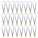 Gold Medaillen,Kinder Gold Kunststoff Gewinner Medaillen mit Bändern für Kinder Party Wettbewerb Belohnung 24pack