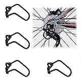 Huahao Sturzschutz Fahrrad 4 STK Fahrradschaltung Schutz Schutzbügel Fahrrad Schaltwerk Schutz Fahrrad Schaltwerk Stahl Sturzschutz für Fahrrad Mountainbikes Rennräder Falträde