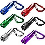 GOLDGE 14Pcs LED Schlüsselanhänger Taschenlampe Mini Taschenlampe für Outdoor Camping Radfahren