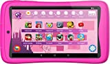Kurio 01516 Tab Connect Kinder, 7' Android Tablet PC mit Multitouch Display, Kindertablet mit stoßfestem Cover in Pink, Computer mit Quadcore CPU, 16 GB HDD, WiFi, Bluetooth, Safeweb, Eltern App