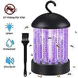 Hisome Moskito Lampe, 2-in-1 Mückenlampe Campinglamp, Tragbare Insektenfalle Wasserdicht Moskito Killer Licht UV Elektrischer Insektenvernichter Mückenschutz Bug Zapper, Fliegenfalle, Zeltlampe