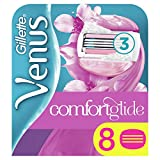 Gillette Venus ComfortGlide Spa Breeze Rasierklingen Frauen, 8er-Pack