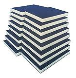 Schleifschwamm Schleifmatte I Körnung K220 16er Set FEIN I DIY, Handschleifer für verschiedene Materialien geeignet I weiches anpassungsfähiges Schleifmittel, Schleifklotz, Schleifblock