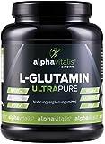L-Glutamin Pulver ULTRAPURE - 99,95% rein - 1000g - neutral - vegan - glutenfrei - laktosefrei - feinstes L-Glutamin Pulver in Premium-Qualität