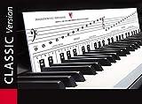"""KLAVIERSPIELEN lernen mit Freude und Spass - """"Klaviatur mit Herz"""" Tastenschablone/Klavierschule: Musiknoten, Tastenorientierung - Lernhilfe für Klavier & Piano"""