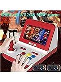 JXD Neue Klassische Nostalgie Retro-Mini-Arcade-Konsole mit großem Rocker Dual-Core 32 GB, eingebaut in 9000 Spiele Arcade neogeo/cp1/cp2/gbc/gb/sens/nes/smd mp3 mp4