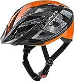 Alpina Erwachsene Panoma 2.0 Fahrradhelm, Black-orange, 52-57 cm