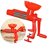 JUSTDOLIFE Tomatensieb Mehrzweck Küchenentsafter Kreative Manuelle Tomatenpresse