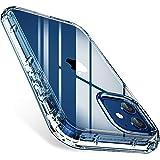 FLOVEME für iPhone 12 Hülle iPhone 12 Pro Hülle 6,1 Zoll, 2 in 1 Stoßfest Stoßstoß Kompatibel mit iPhone 12 iPhone 12 Pro Hülle 2020 5G Transparente Ganzkörper Schutzhülle
