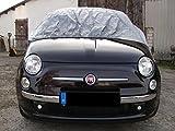 Kley & Partner Halbgarage Auto Abdeckung Plane Haube wasserdicht UV resistent kompatibel mit FIAT 500 Cabrio ab 2010