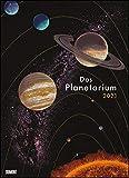 Das Planetarium 2021 ‒ Astronomie im Wand-Kalender ‒ Illustriert von Chris Wormell ‒ Poster-Format 49,5 x 68,5 cm