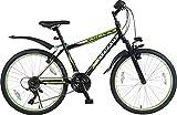 24 Zoll MTB Mountainbike FEDERGABEL JUGENDFAHRRAD Jungen MÄDCHEN Kinder Fahrrad KINDERFAHRRAD Bike Rad 21 Shimano Gang Escape GRÜN TYT19-021