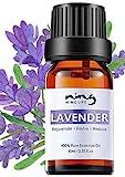 Lavendelöl Bio für Hautpflege und Aromatherapie Diffuse, 100% Naturreines Ätherisches Öle