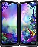 LG G8X Smartphone (16, 26 cm (6, 4 Zoll) OLED FHD+ Display, 128 GB interner Speicher, 6 GB RAM, IP68, Android 9.0) Aurora Black