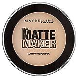 Maybelline New York Matte Maker Puder Nr. 20 Natural Beige, mattierendes Puder