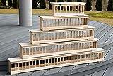 AGROHIT Futtertrog-Futterraufe-Taubentrog aus Holz 50/60/70/75/100/120/150 cm (150cm)