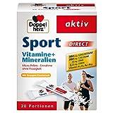 Doppelherz Sport DIRECT mit Orangen-Geschmack – Abgestimmte Nährstoffe für Sportler und körperlich Aktive – 20 Portionen