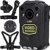 BRIFIELD® BR1 Körperkamera – HD 1440p, GPS, 64 GB, H.265 | Body Cam für Sicherheitsrollen & für persönliche Aufnahmen | Kommt mit Brustgurt, Schultergurt, Klickfast-Nieten & Dock-Stück