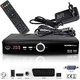 hd-line Echosat 20900 M Digital Satelliten Sat Receiver - (HDTV, DVB-S/S2, HDMI, SCART, 2X USB 2.0, Full HD 1080p) [Vorprogrammiert für Astra Hotbird Türksat]