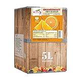 Pfannenschwarz Orangensaft 100% Direktsaft, 2er Pack (2x5 l Bag in Box)