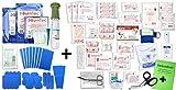 Erste Hilfe FÜLLUNG Gastro für Betriebe DIN/EN 13157 Plus 2 INKL. Augenspülung + Brandgel + detektierbare Pflaster + Hydrogelverbände + HÄNDE-ANTISEPT-Spray