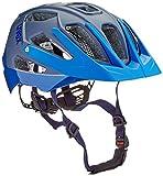 Uvex Unisex– Erwachsene, quatro Fahrradhelm, blue mat, 56-61 cm