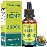 Liposomales Naturöl | 30000mg/90% | Reine Hochkonzentrationsformel | Hohe Absorption | Veganerfreundlich (30ML 30000)