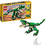LEGO 31058 Creator Dinosaurier, 3-in-1 Modell: T-Rex, Triceratops oder Pterodactylus, modulares Bausystem