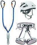 PETZL Unisex– Erwachsene Klettersteig Kit Vertigo Zubehör Für Klettern, Mehrfarbig, Uni