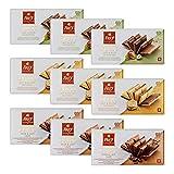 Frey 9x feinste Schokoladentafeln aus 3 Sorten - Duett Mix - Schweizer Schokolade Tafel mit Nüssen / Füllung - Großpackung 9x 100 g - UTZ-zertifiziert - Schokoladengeschenkset