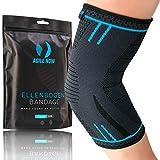 AGILE NOW Ellenbogenbandage Tennisarm Stabilisiert & Schützt für Tennis Bandage Ellbogen Bandage Ellenbogen Armbandage Herren Damen (L)