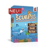 SCUBI - Neuheit 2018 von Rudy Games - Interaktives Logikspiel mit App, Für Kinder ab 6 Jahren und Erwachsene | Brettspiel Legespiel Kinderspiel Familienspiel Gesellschaftsspiel Denkspiel