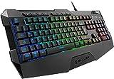 Sharkoon Skiller SGK4 Gaming Keyboard RGB, N-Key-Rollover, (Deutsches Tastaturlayout)