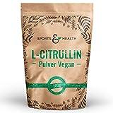 Citrullin Pulver Vegan Als 500g Veganes L-Citrullin Pulver In Einem Perfekten 2:1 Verhältnis Mit Extra Dosierlöffel - Abgefüllt In Deutschland - Vegan