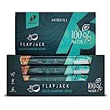 ATHLETIC3 FLAPJACK – Haferriegel Cranberry & Kokos [20 x 40 g] – Müsliriegel – Energieriegel für Ausdauersport – vegan – ohne zugesetzten Zucker