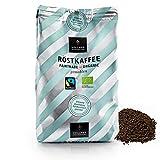 VOLLMER Röstkaffee gemahlen - Premium Kaffee aus Privatrösterei - Bio Fairtrade Filterkaffee - Frisch und schonend geröstet im Münsterland - 500g Kaffeepulver mittlere Röstung