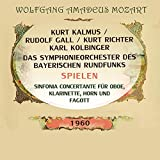 Kalmus/ Gal / Richter / Kolbinger / Das Symphonieorchester des Bayerischen Rundfunks spielen: Sinfonia concertante für Oboe, Klarinette, Horn und Fagott
