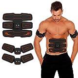Bauchmuskeltrainingsgerät, Intelligentes Muskelmassagegerät, Heimfitnessgeräte, Muskelformung für Männer und Frauen Baucharm-Beintraining