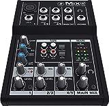Mackie 25811 Mix5 5-Channel Compact DJ Mischer