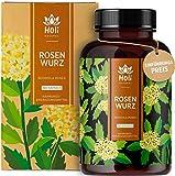 Holi Natural® Rhodiola Rosea Extrakt   180 vegane Kapseln   400mg je Tagesdosis   3% Rosavin, 1% Salidrosid   Rosenwurzextrakt ohne Zusatzstoffe   Laborgeprüft