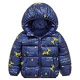 Minizone Kinder Jacke mit Kapuze Winter Mäntel Jungen Madchen Schneeanzüge Outfits 3-4 Jahre