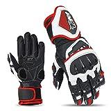 JET Motorradhandschuhe Premium-Leder Belftete Hartschalen auf Kncheln und Fingern