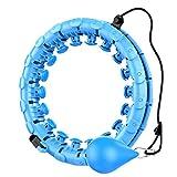 LINTONG Smart Hula-Ring FüR Gewichtsverlust Hula Hoop Reifen Erwachsene, Der Nicht AbfäLlt, 24 Artikulierte Hula-hoop KöNnen FüR Gewichtsverlust Und Fitness Angepasst Werden Übung