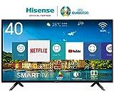 Hisense H40BE5500 100 cm (40 Zoll) Fernseher (Full HD, Triple Tuner, Smart-TV) [Modelljahr 2019]
