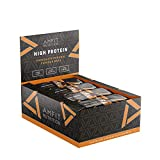 Amazon-Marke: Amfit Nutrition Protein-Riegel mit Schokoladen-Karamell Geschmack 12er Pack (12 x 60g)