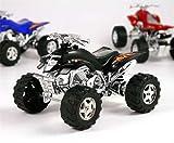 Quad mit Rückzug in Klarsichtbox, 10,5 cm, Spielzeugquad, Modellquad Kinderge...